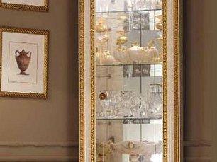 Леонардо витрина угловая глянец