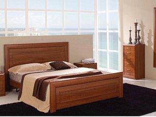 Альба спальня комплект: кровать 160+тумба прикроватная 2шт+комод+ шкаф 3 дверный
