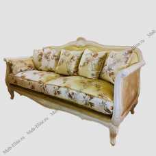 Белая роза диван 3 местный  F6672-3  М01 /S06
