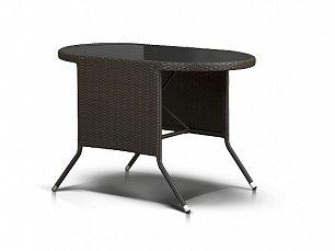 Паво стол кофейный (Прато) 113х65 иск. ротанг