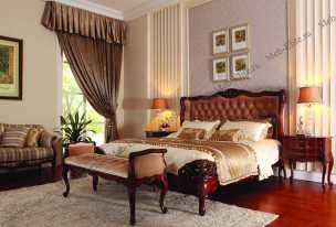Луи 15 (Louis XV) спальня орех