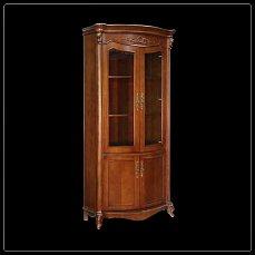 Карпентер 230-1 шкаф книжный 2 дверный орех светлый тон