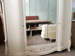 Офелия шкаф 5 дверный с зеркалом