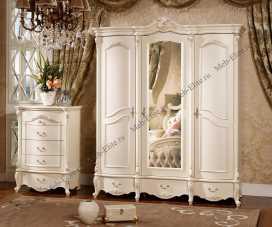 Лоренцо шкаф 3 дверный с зеркалом