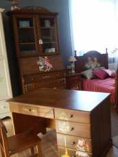 Французкие мотивы стол письменный 760 орех (детский)