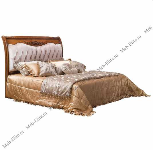 Карпентер 230-1 кровать с прямым изголовьем A c основанием 160×200 (ткань)