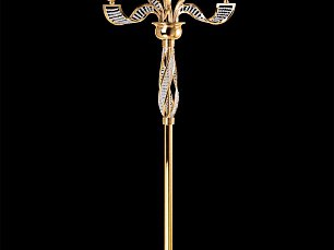ALVEARE торшер (ML200001-6) 6х40W E14 золото Арт.702762K
