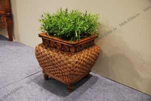 Ротанг Виктория подставка под цветы 40 см
