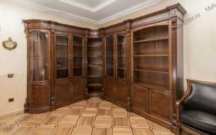 Луи 16 (Louis XVI) шкаф книжный угл+2+угл+2+2