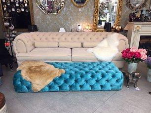 Галерея диван 3 местный GM 24 (ножки деревянные)