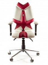 FLY кресло детское рабочее бело-красное