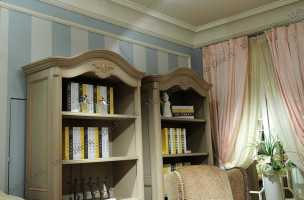 Адалия (Adalia) шкаф книжный 551 с дверцами