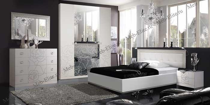 Роза спальня белый