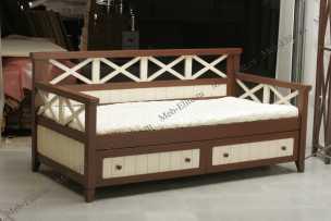 Океан диван-кровать с ящиками