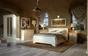 Набукко спальня белая