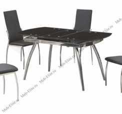 Мик стол обеденный B179-49 (MK-4302-BL) 121/150х75