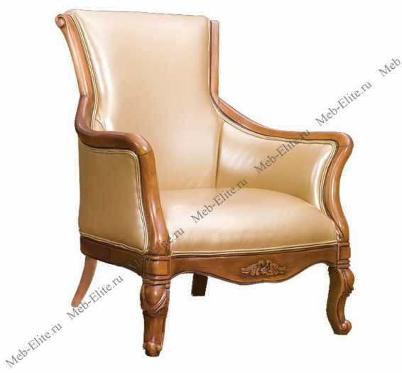 Карпентер 230-1 кресло чайное (кожа 859/ПВХ)