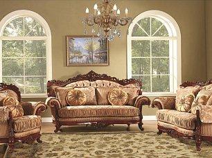 Милорд Голд 930 мягкая мебель 3+1+1 ткань