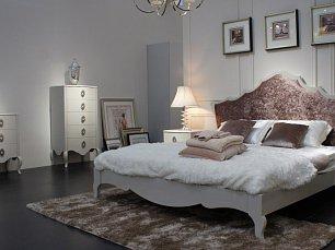Хемис спальня белая глянец