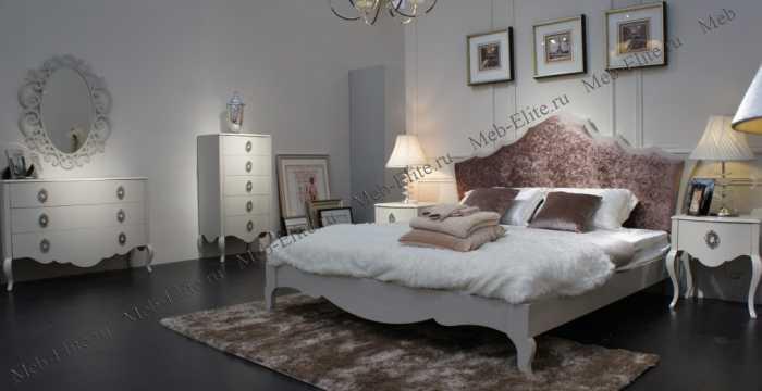 Хемис спальня белая