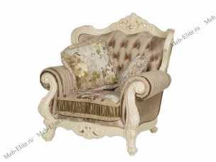 Милано (Фиора) кресло 8802-A (ткань кофейная)