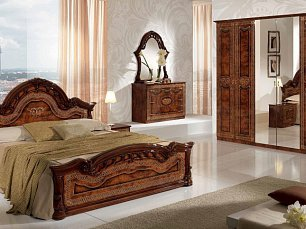 Селена спальня орех глянец