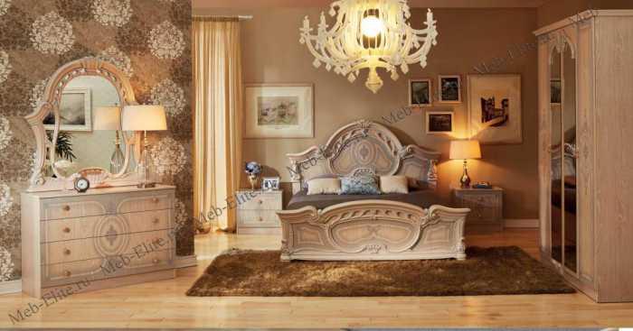 Рим спальня бежевая
