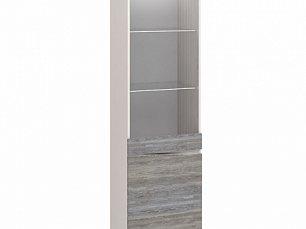 Соната витрина 1 дверная (шкаф комбинированный) МН-034-01