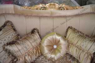 Беатриче диван 3 местный светлый (раскладной)