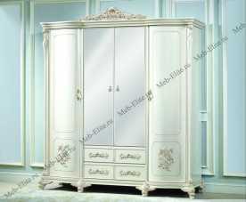 Анетта 1320 шкаф 4 дверный