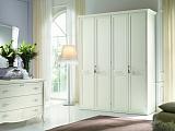 Нинфея шкаф 4 дверный (белый)