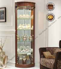 Панамар (Panamar) витрина угловая 668.001 орех/вишня