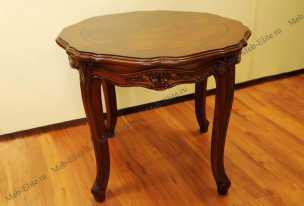 Луи 15 (Louis XV) стол кофейный 630 орех