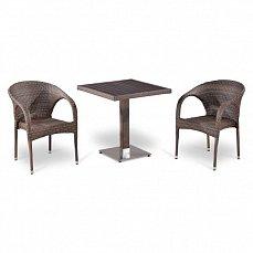 Комплект мебели 2+1 Т502DG/ Y290BG-W1289 иск. ротанг