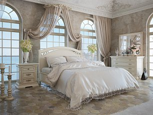 Дукале спальня белая
