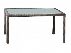 Милан стол обеденный 150х90 иск. ротанг
