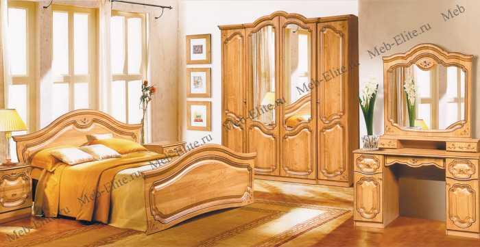 Орхидея СП-002 спальня орех