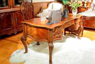 Луи 15 (Louis XV) стол письменный 570В орех