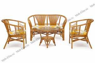 Атланта комплект: диван + столик + 2 кресла