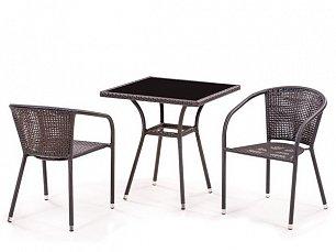 Комплект мебели 2+1 T282BNS/ Y137B-W51-2PCS иск. ротанг