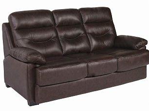 Мик диван-кровать 3 местный MK-4703-BRL кожа