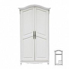 Белая роза шкаф 2 дверный F6682  S06