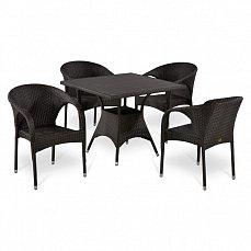 Комплект мебели 4+1 Т190ВD/ Y290В-W52 иск. ротанг