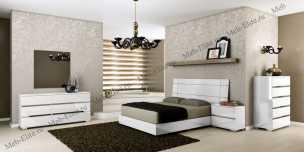 Дрим спальня белая глянец