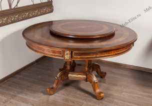 Луи 16 (Louis XVI) стол обеденный (138х138) 712-2 круглый
