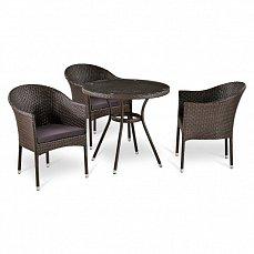 Комплект мебели 3+1 T283ANT/ Y350-W51-3PCS иск. ротанг