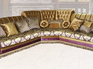 Валенсия диван-кровать угловой (ковка)