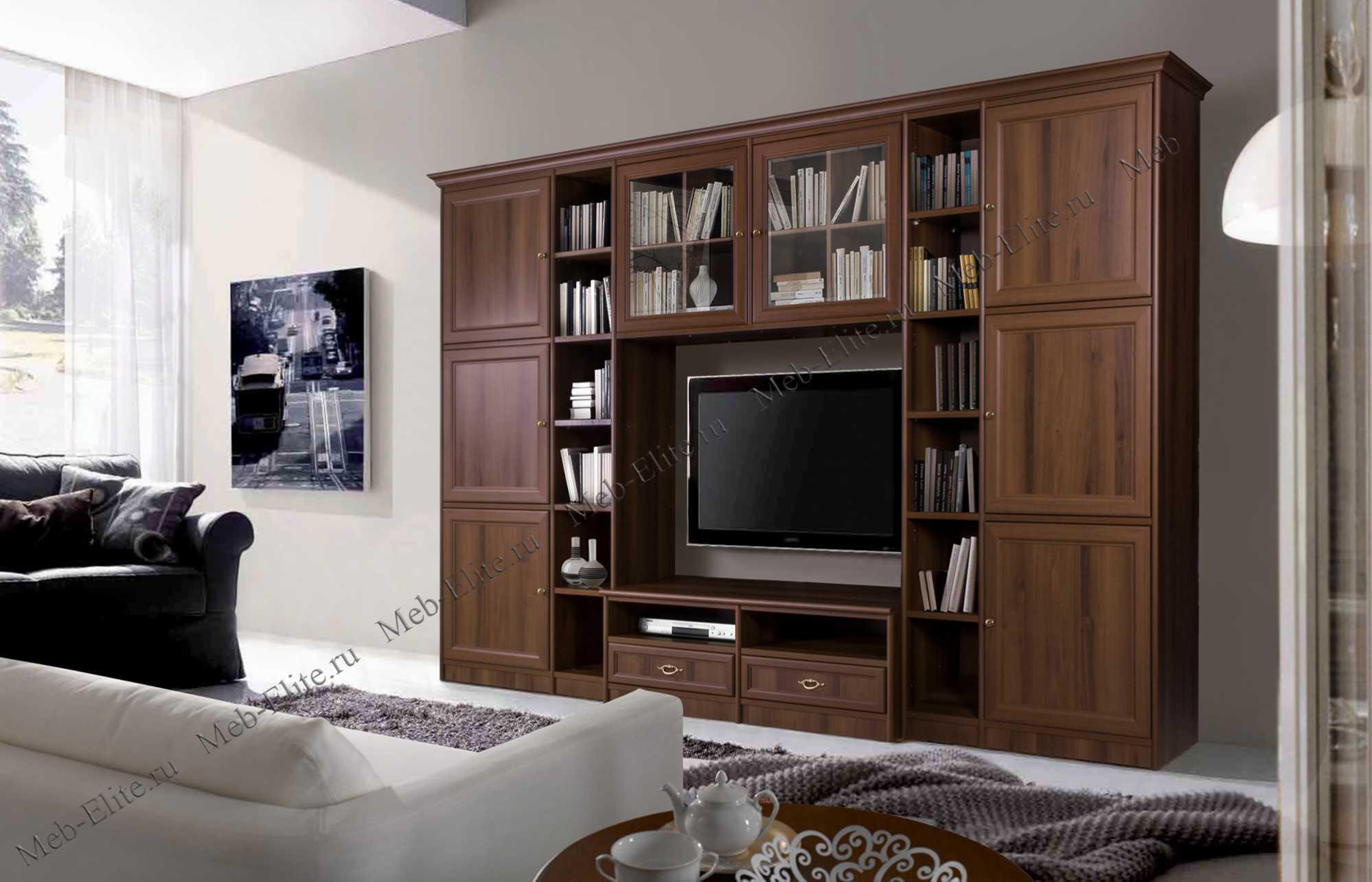 венеция модульная система для гостиной комп 501 ноче купить со