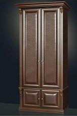 Благо шкаф 2-дверный для прихожей 5.15-2 орех/кофе