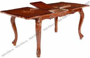 Классика стол трансформер Р86 (155+(30) орех